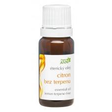 Лимонное без терпена эфирное масло  Original Atok